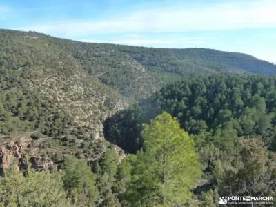 Rincón de Ademuz;el salto del nervion parque natural tablas de daimiel clubs de montaña